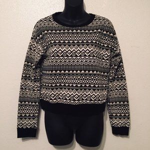 Forever 21 Geometric Sweater